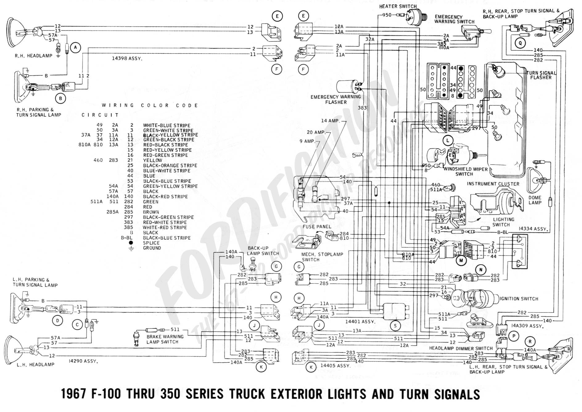 Turn Signal Wiring Diagram Chevy Truck