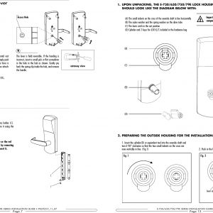Type B Door Locks Wiring Diagram - Type B Door Locks Wiring Diagram Collection Page 8 Of Csc790 Door Lock User Manual 5l