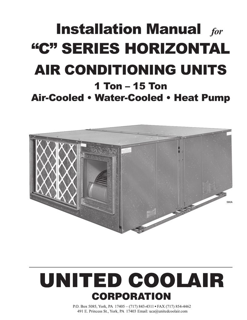 United Cool Air Wiring Diagram