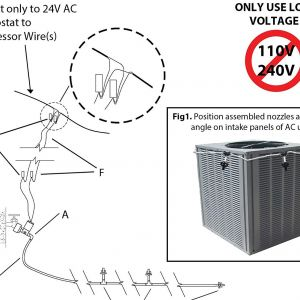 United Cool Air Wiring Diagram - Smart Ac Automatic Air Conditioner Cooler System Evaporative Cooling Kit Amazon 18g