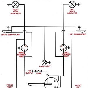 Universal Turn Signal Wiring Diagram - Universal Turn Signal Switch Wiring Diagram 8h