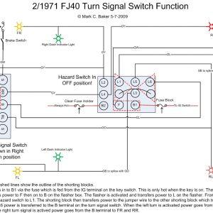Universal Turn Signal Wiring Diagram - Universal Turn Signal Switch Wiring Diagram 2f