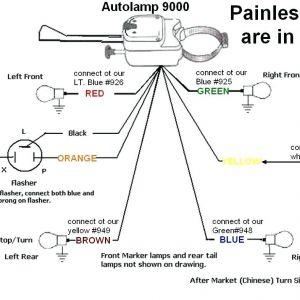 Universal Turn Signal Wiring Diagram - Universal Turn Signal Switch Wiring Diagram 20n