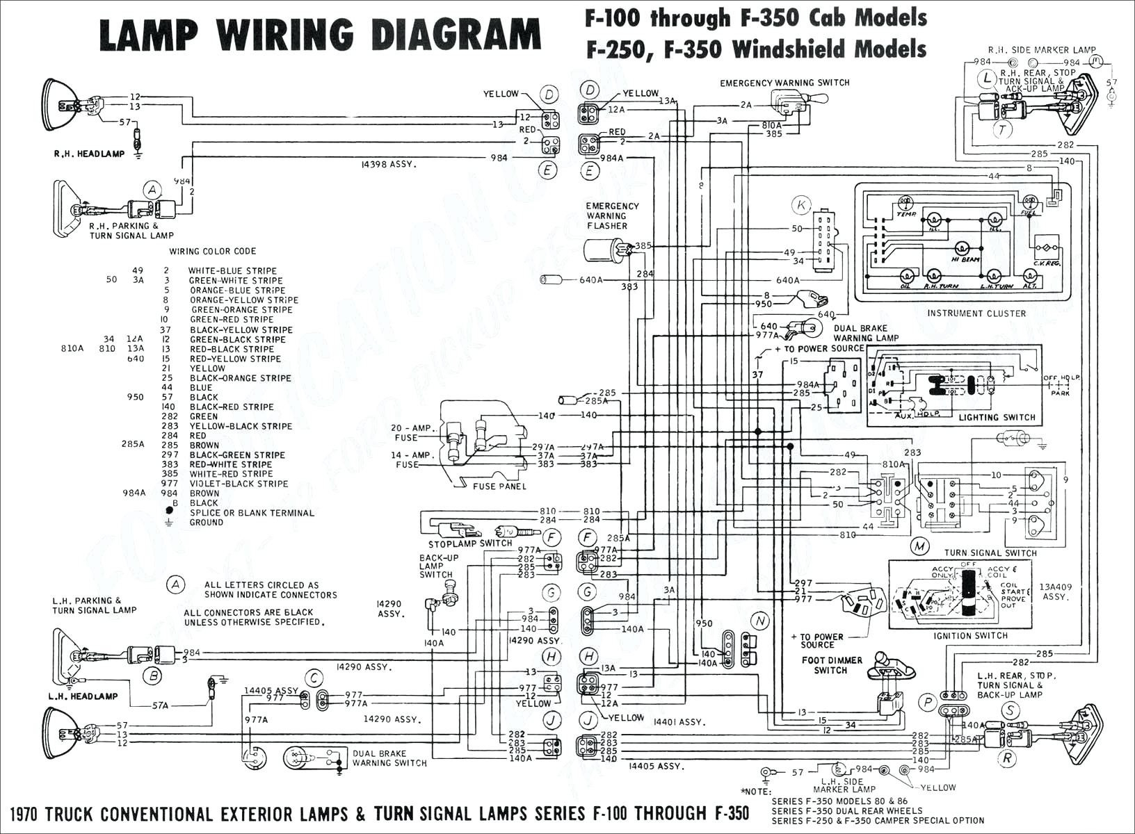 universal turn signal wiring diagram