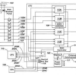 Ups Maintenance bypass Switch Wiring Diagram - Wiring Diagram Patent Us System and Method for Allocating Power to Loads Drawing Ups Circuit Diagram 13r