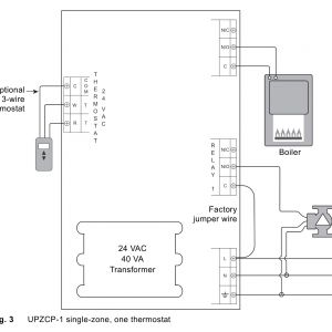 V8043f1036 Wiring Diagram - attractive 3 Wire Taco Zone Valve Electrical Circuit 9b