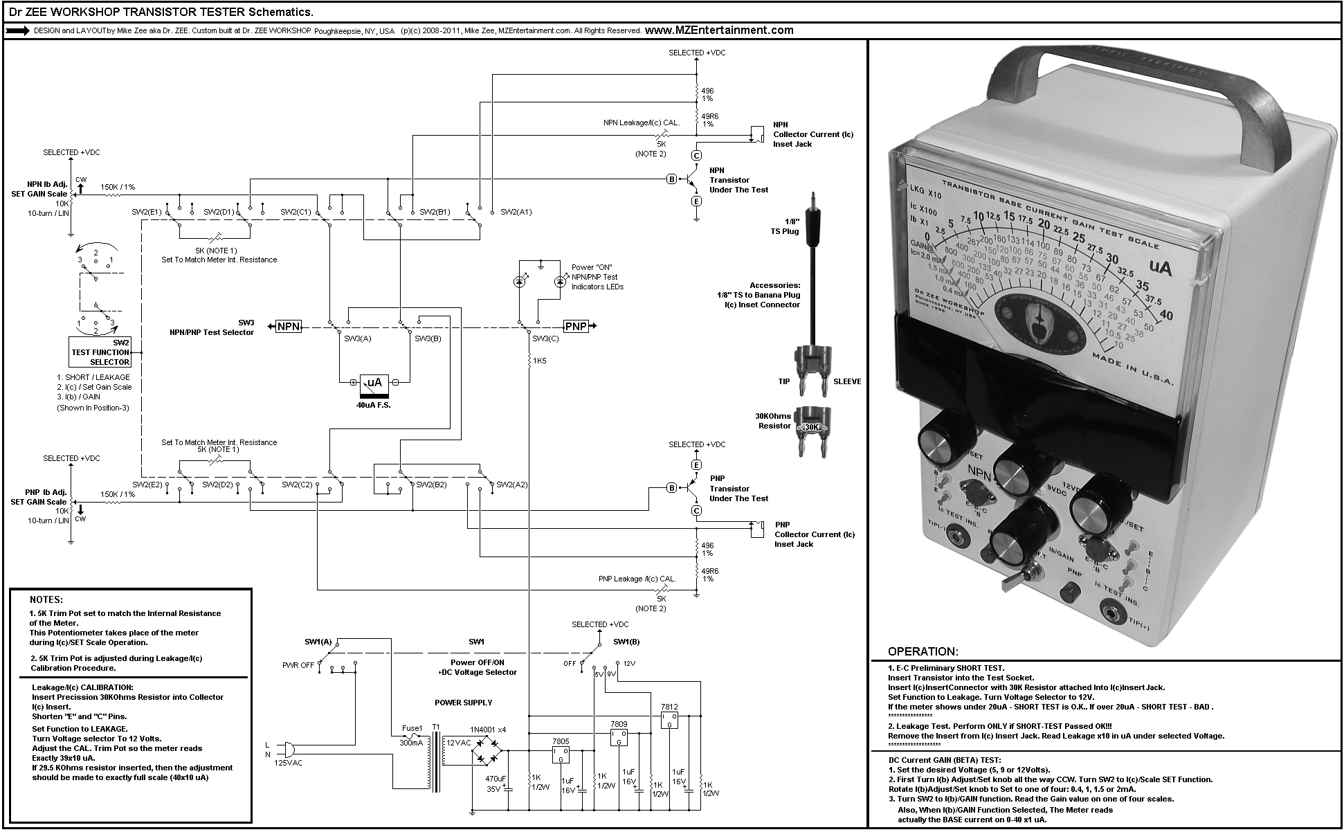 Variac Wiring Diagram
