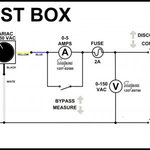 Variac Wiring Diagram - Schem 6j