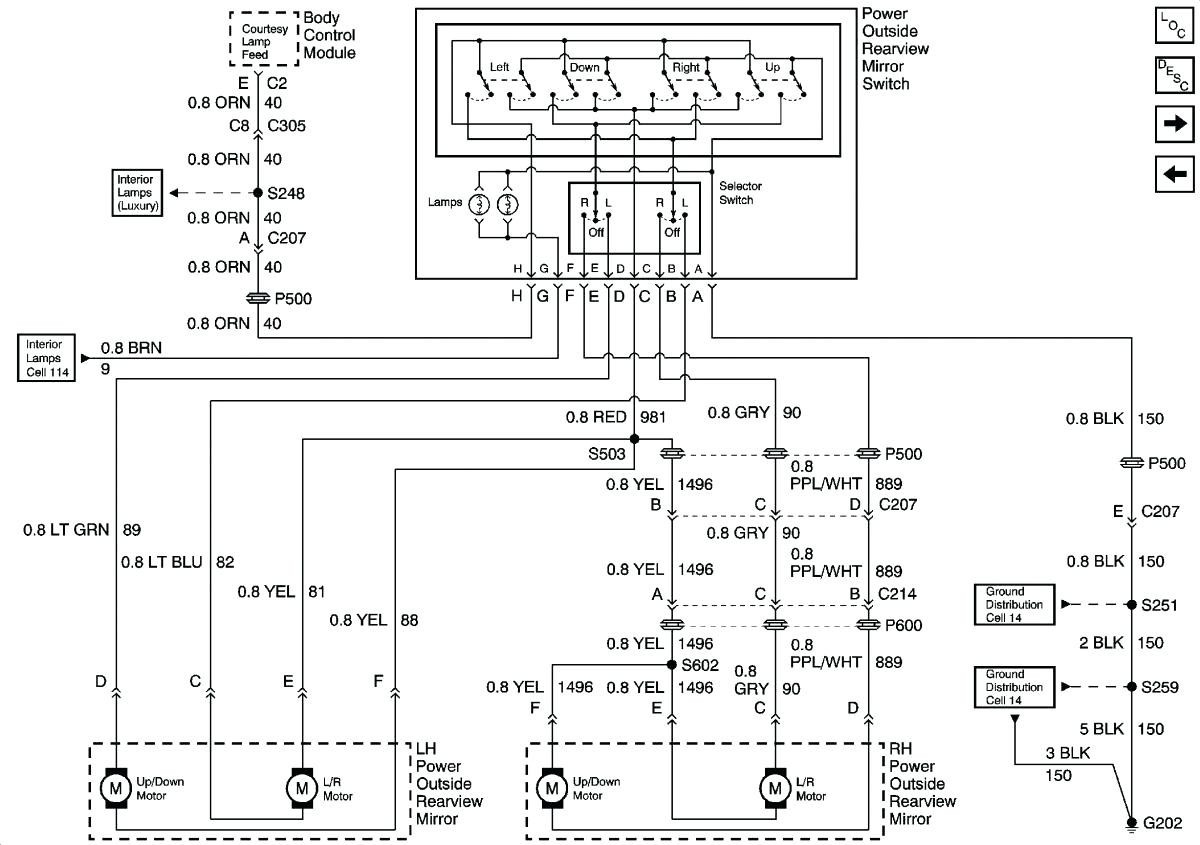 2015 ford f150 mirror wiring diagram
