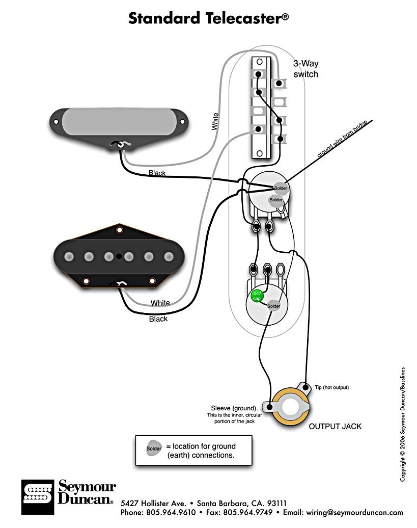 vintage telecaster wiring diagram Download-Standard Tele Wiring Diagram 12-s