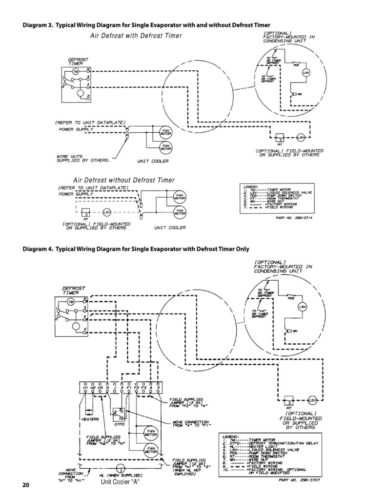 Walk In Freezer Wiring Schematic