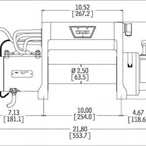Warn Winch Wiring Schematic - Warn 9 5cti Wiring Diagram Wiring Data U2022 Rh Maxi Mail Co Dakota Digital Speedometer Wiring Diagram Winch solenoid Wiring Diagram 17j