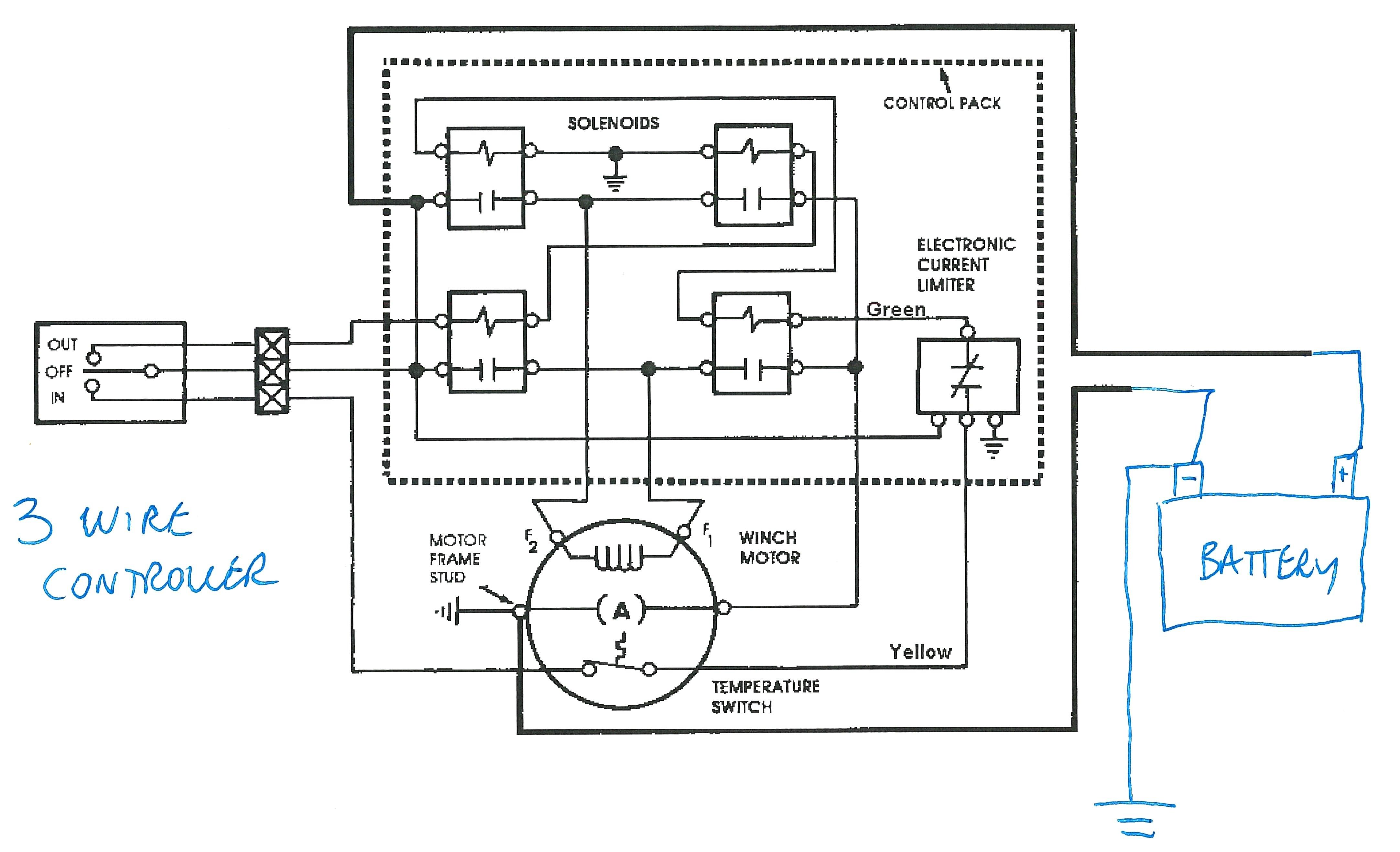 warn winch wiring schematic