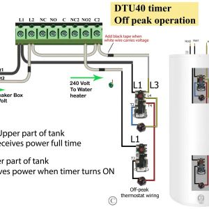Water Heater Timer Wiring Diagram - Wiring Diagram Immersion Heater Timer Fresh Wiring Diagram for Water Heater New Hot Water Heater Wiring 1c