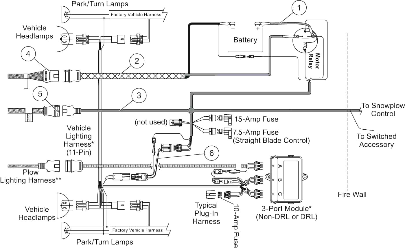 Western Salt Spreader Wiring Diagram