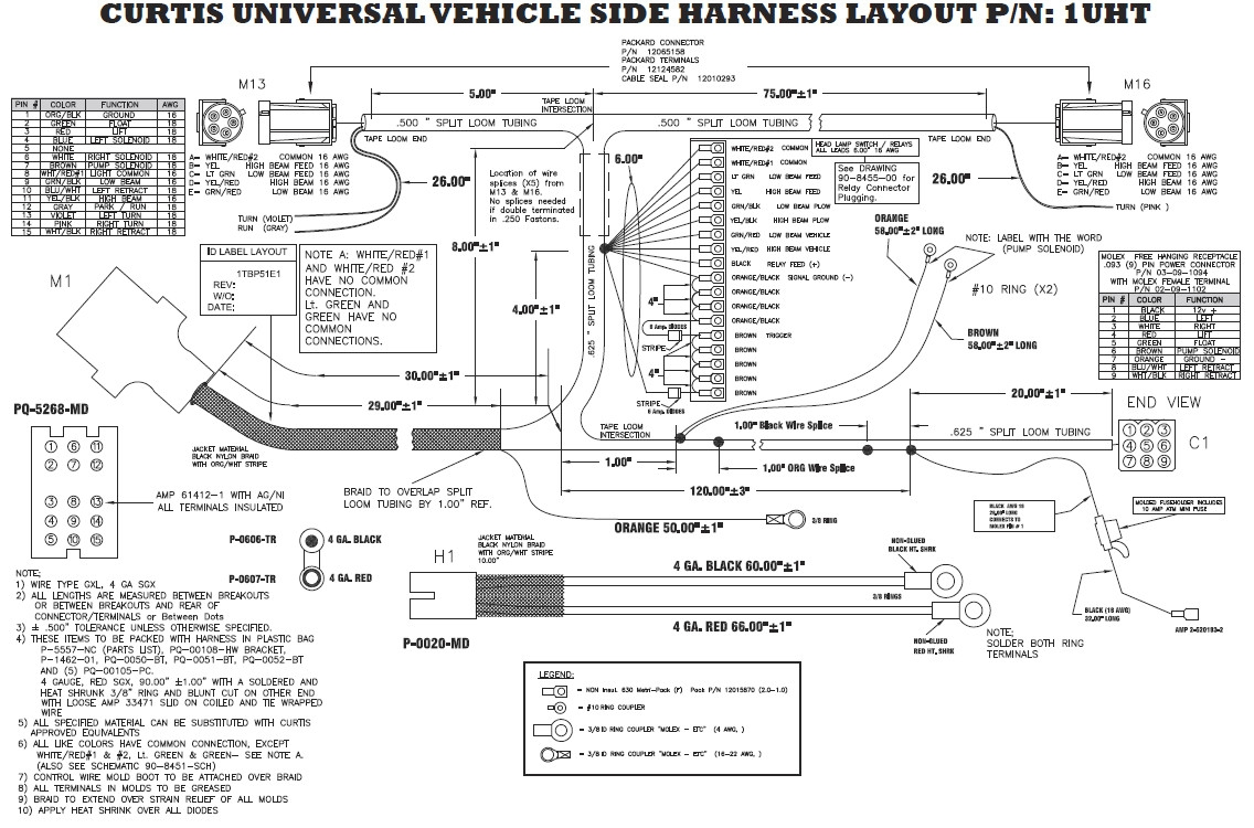 Western Snow Plow Controller Wiring Diagram