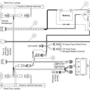 Western Snow Plow solenoid Wiring Diagram - Unique Western Plow Wiring Diagram Wiring 20b
