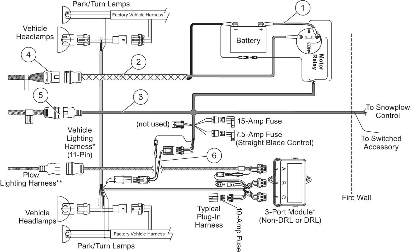 Western Snow Plow Wiring Diagram