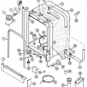 Whirlpool Dishwasher Wiring Diagram - Whirlpool Dishwasher Parts Diagram Whirlpool Gold Dishwasher Parts Diagram Beautiful Amana Amana 15m