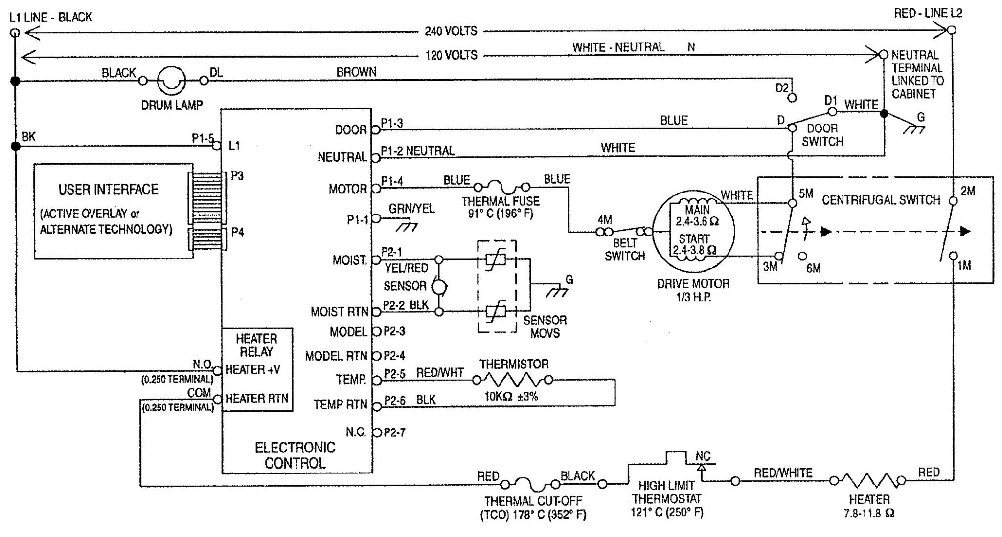 Diagram  240 Dryer Wiring Diagram Full Version Hd Quality