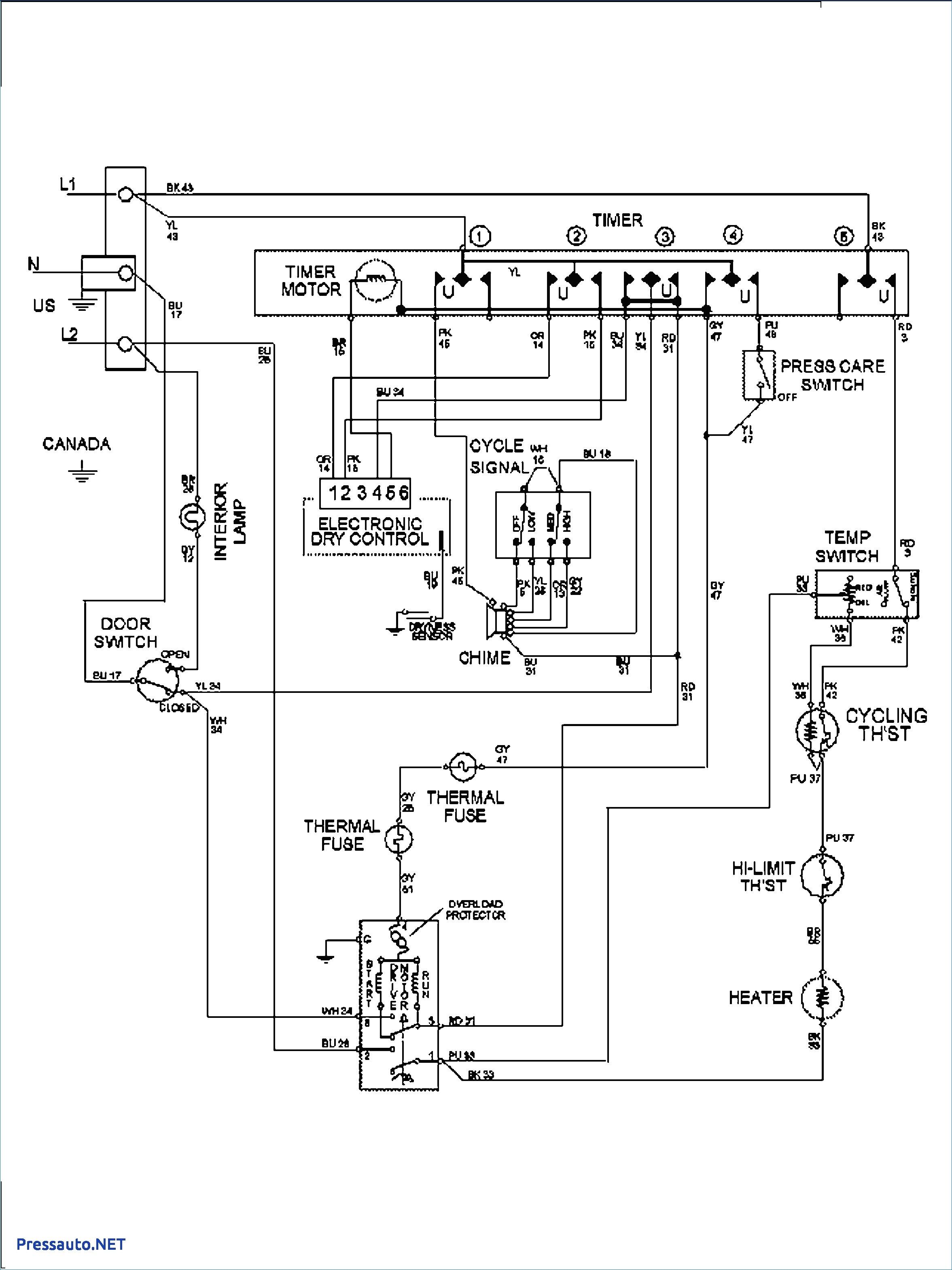 whirlpool dryer schematic wiring diagram Collection-Wiring Diagram Dryer Motor New Ge Inspirational 15 0 Stunning Whirlpool Dryer Schematic Wiring Diagram 7-q