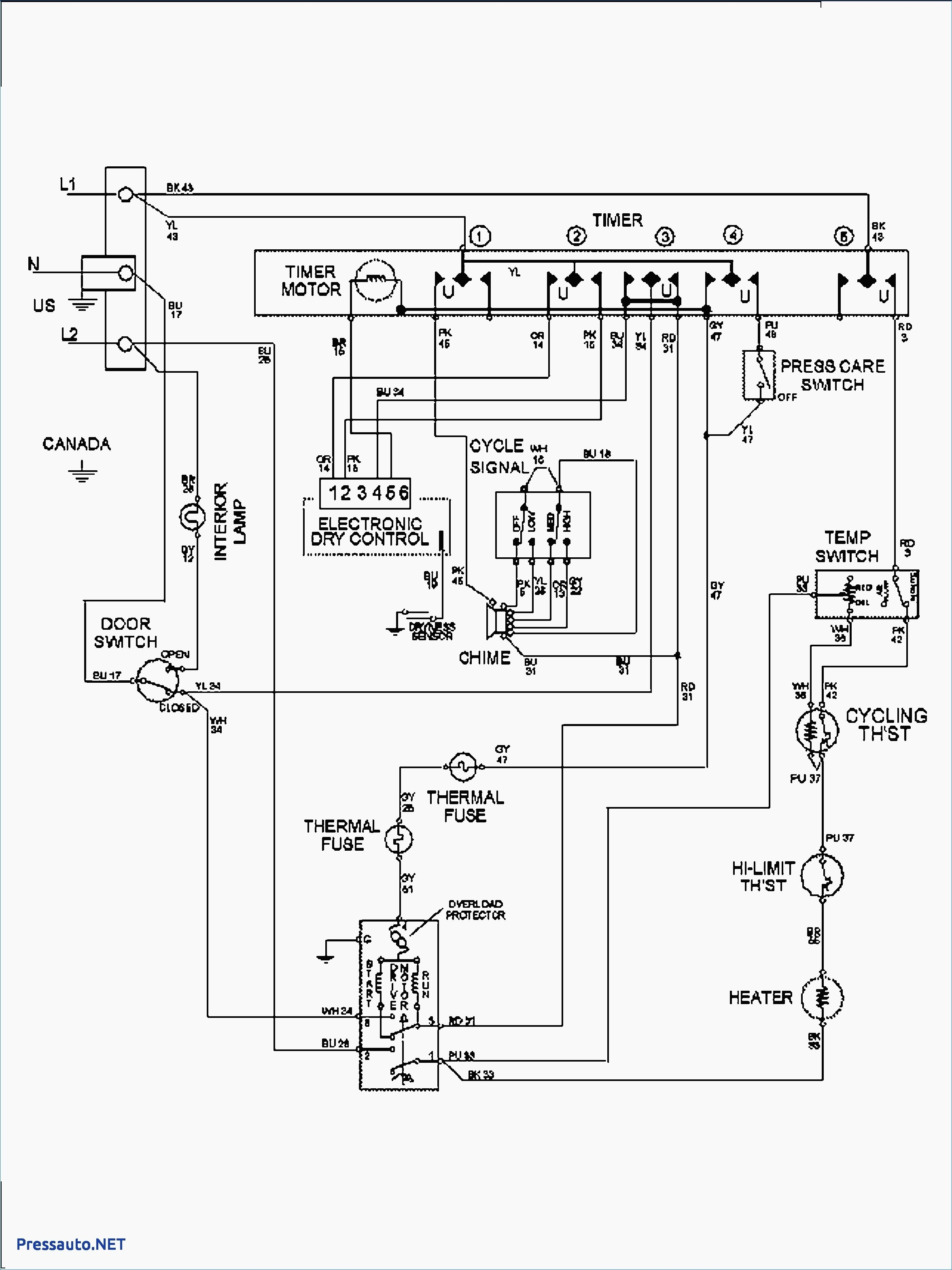 Whirlpool    Dryer       Wiring    Schematic   Free    Wiring       Diagram