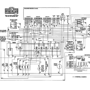 Whirlpool Washing Machine Wiring Diagram - M 16c