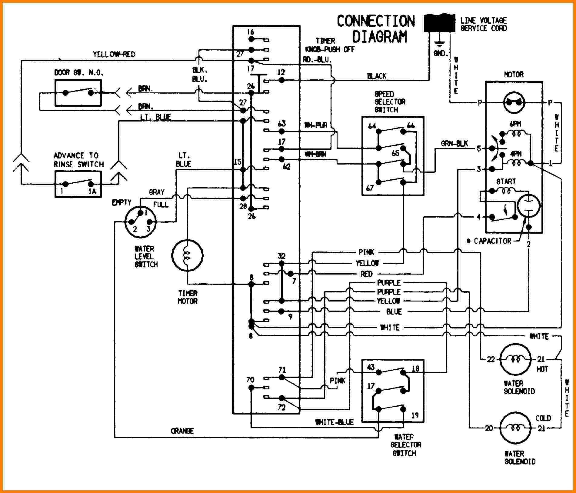 Whirlpool Washing Machine Wiring Diagram