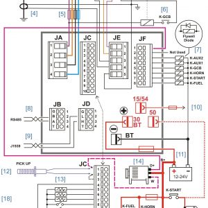 Whole House Generator Wiring Diagram - Standby Generator Wiring Diagram Diesel Generator Control Panel Wiring Diagram 16p