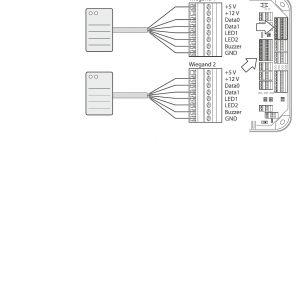 Wiegand Reader Wiring Diagram - Wiegand Reader Wiring Diagram Download Page 52 Of Kam9230 K5 Rfid Reader User Manual Tm Download Wiring Diagram Pics Detail Name Wiegand Reader 11l