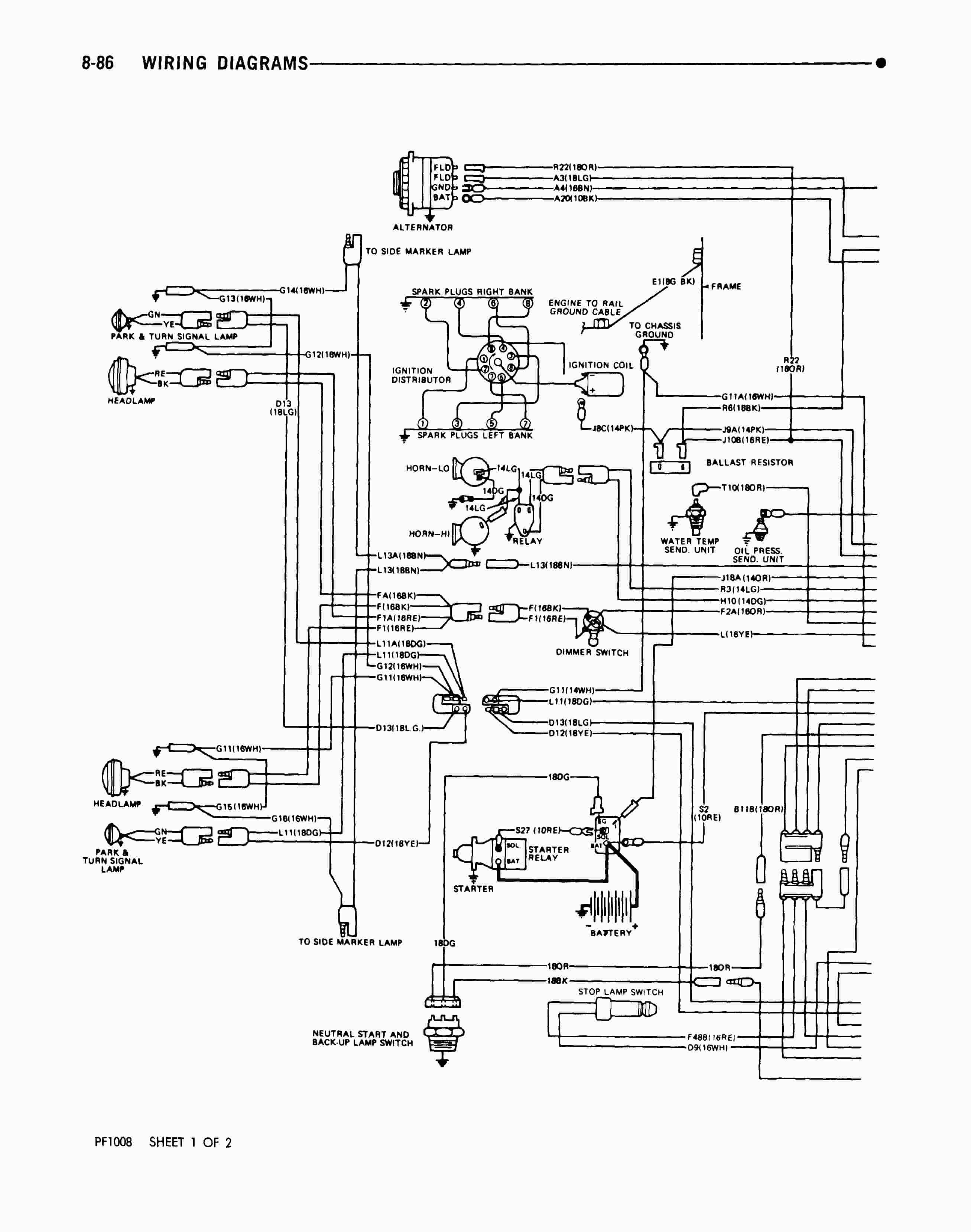 Fleetwood Wiring Diagram Motorhome