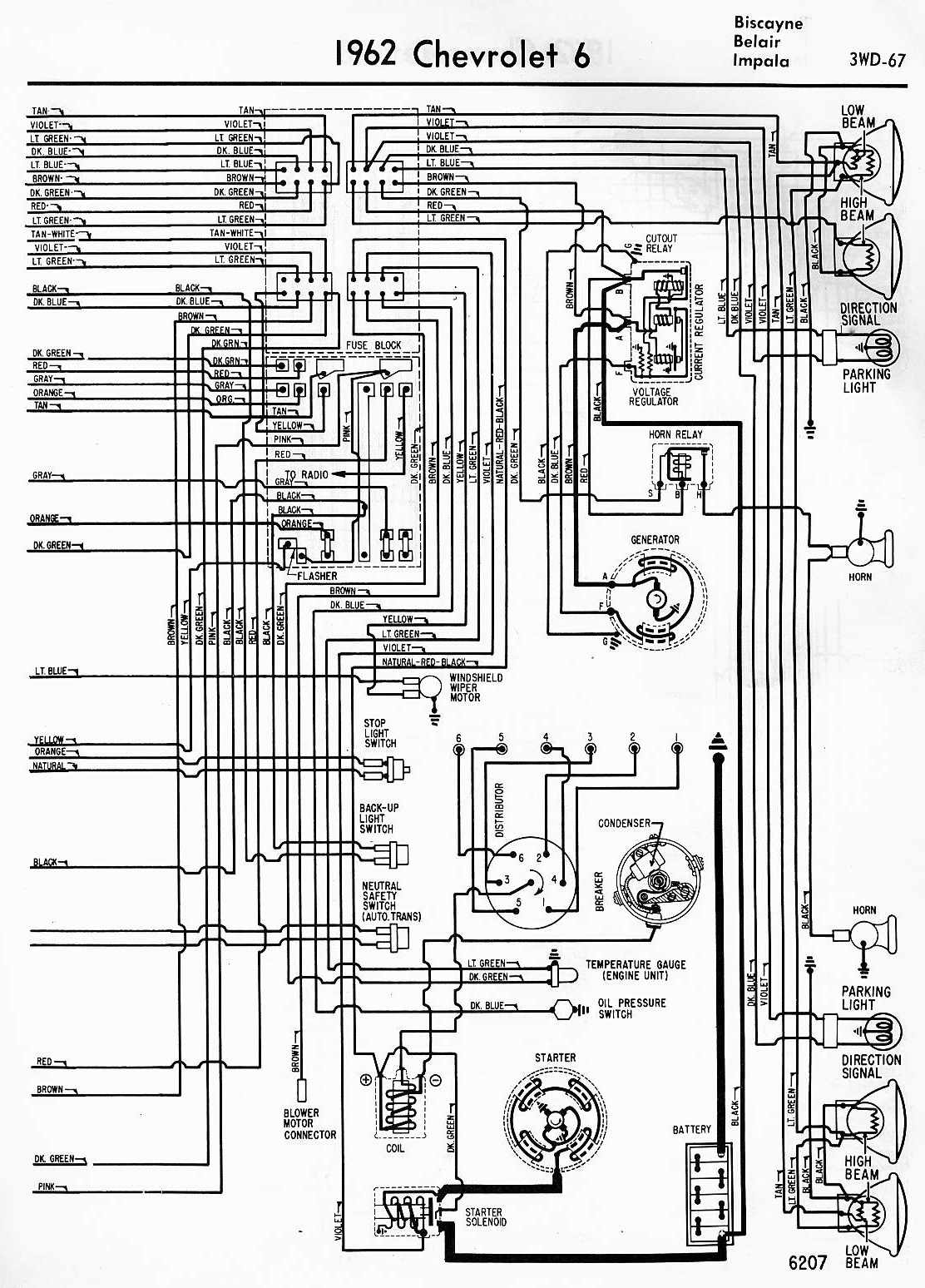 Wiper Motor Wiring Diagram Chevrolet