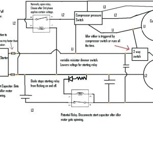 Wiring Diagram for Air Compressor Motor | Free Wiring Diagram on