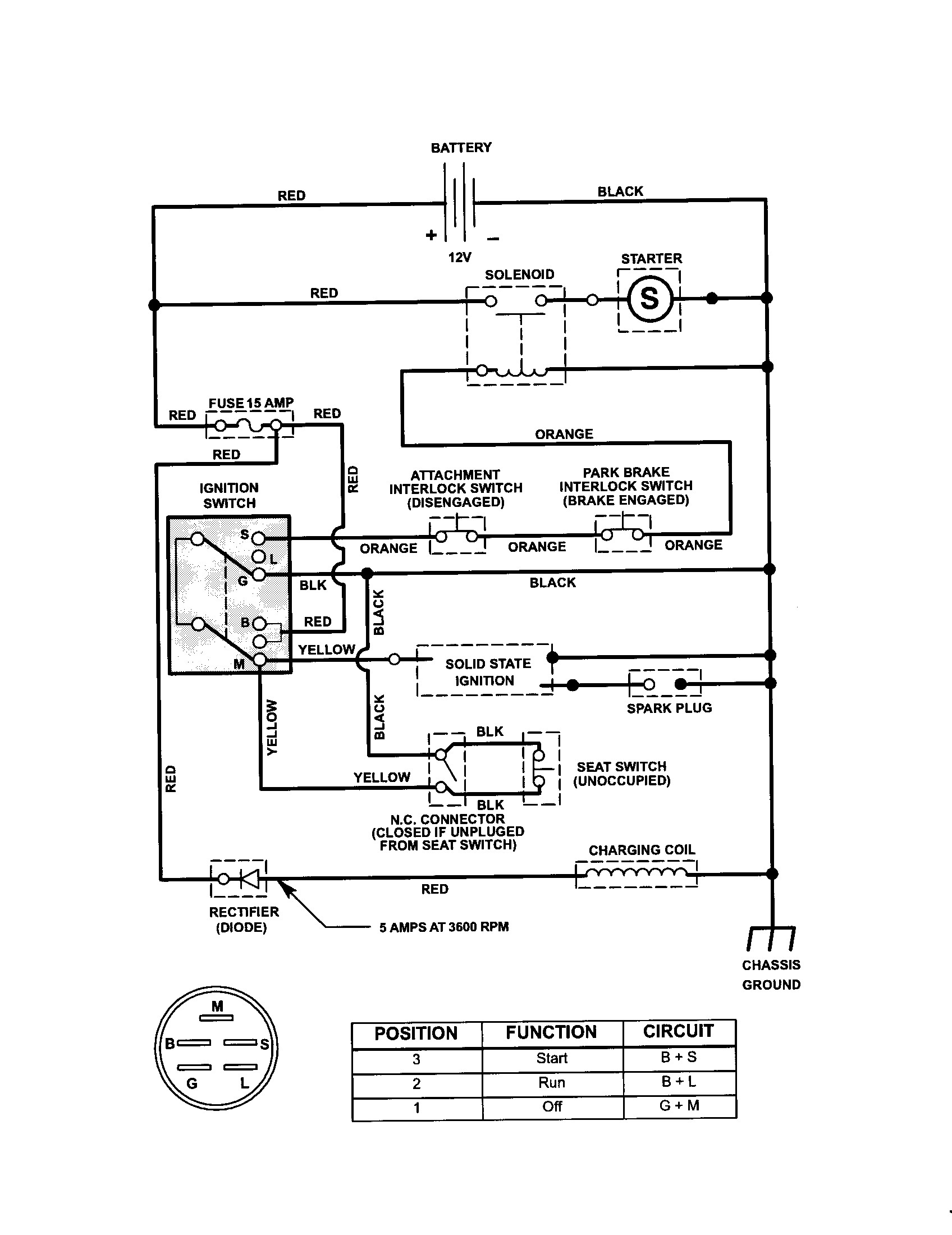 wiring diagram for craftsman riding lawn mower Collection-Wiring Diagram for Ignition Switch Lawn Mower Save Craftsman Riding Mower Electrical Diagram 13-r