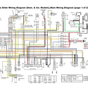 For Harley Softail Wiring Harness Diagram - Wiring Diagram Sheet on