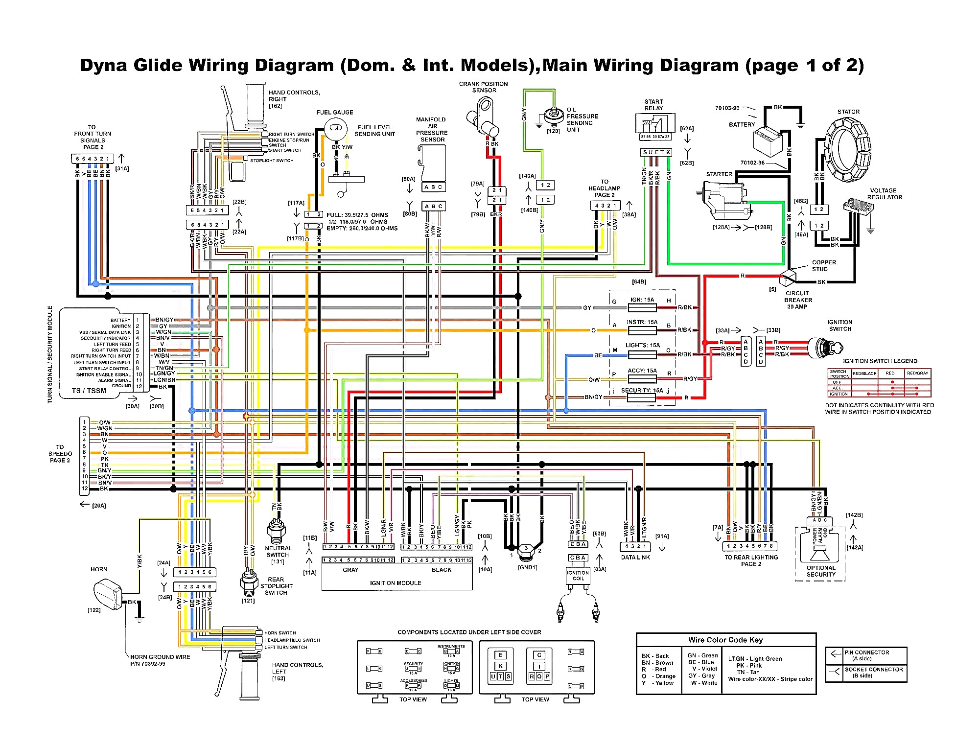 Wiring Diagram for Harley Davidson softail | Free Wiring ...