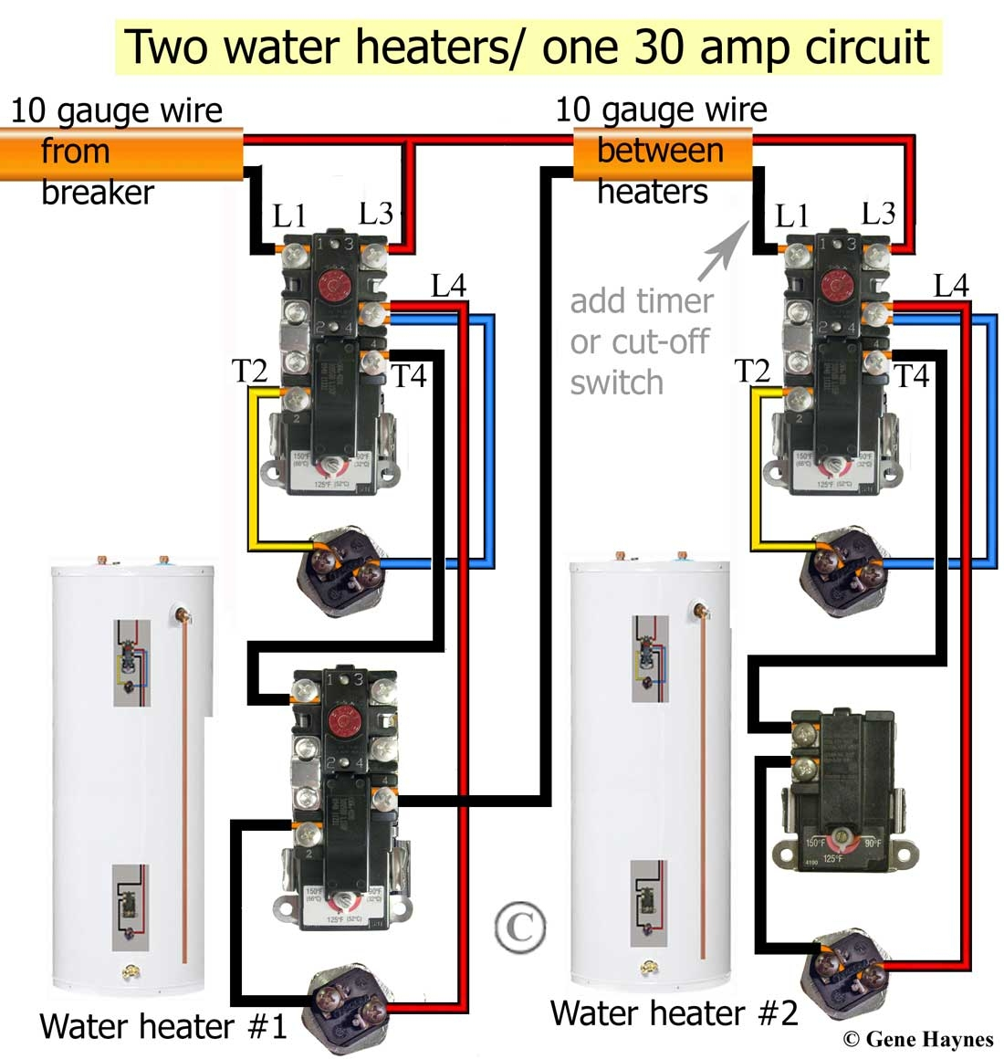 wiring diagram for hot water heater thermostat | free ... hot water tank wiring diagram