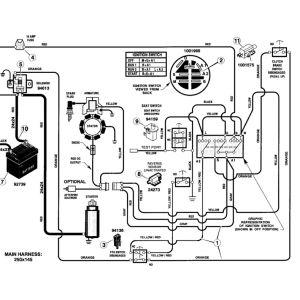 Wiring Diagram for Husqvarna Mower - Mtd Riding Lawn Mower Wiring Diagram 12l