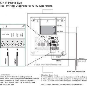 Wiring Diagram for Liftmaster Garage Door Opener - Garage Wiring Diagram Liftmaster Sensors with for Door Opener Fair Endear 8i