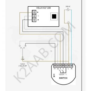 Wiring Diagram for Motorized Blinds - Controling Velux Windows with Fibaro to Buy Zmlink Rf433 Smart Wireless Curtain Motor Switch 7e