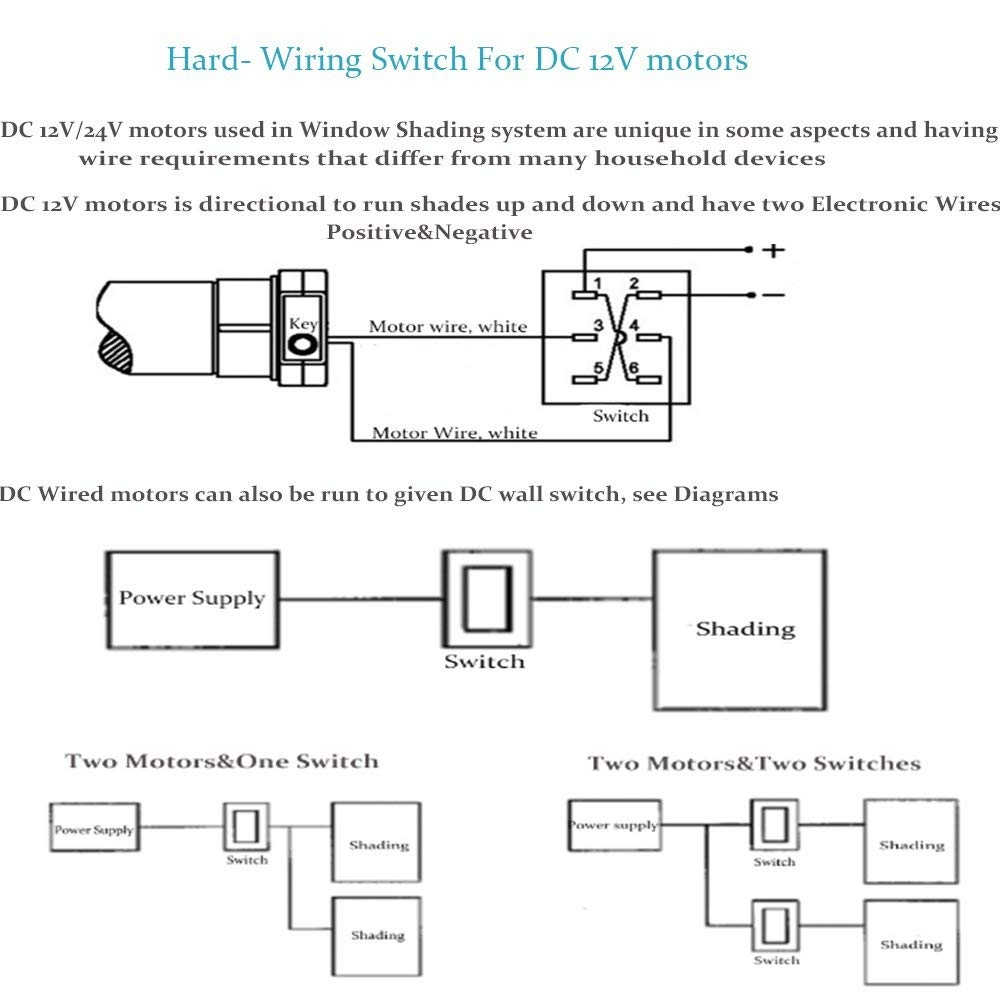 wiring diagram for motorized blinds Download-wiring diagram for motorized blinds Download Amazon Rollerhouse Electric Roller Blind Shades with 16mm Tubular DOWNLOAD Wiring Diagram 11-b