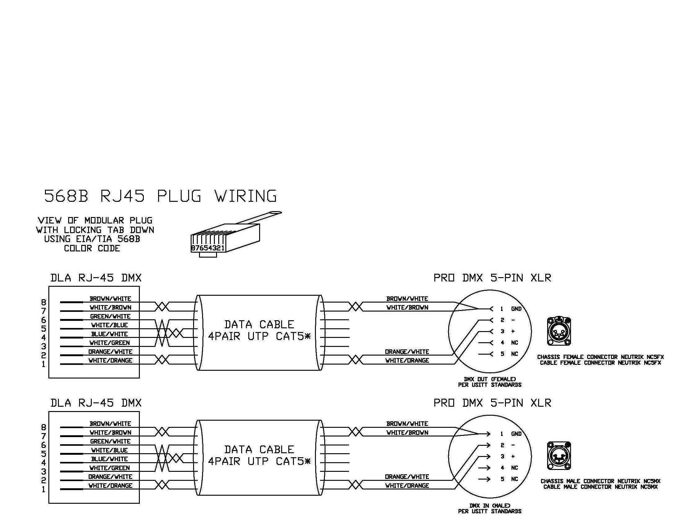 Rj45 Connector Pinout Pdf