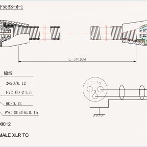 Xlr Wiring Diagram Pdf - Wiring Diagram for Xlr Cable Save 3 Wire Stove Plug Wiring Diagram Lovely 3 Wire Microphone 1a