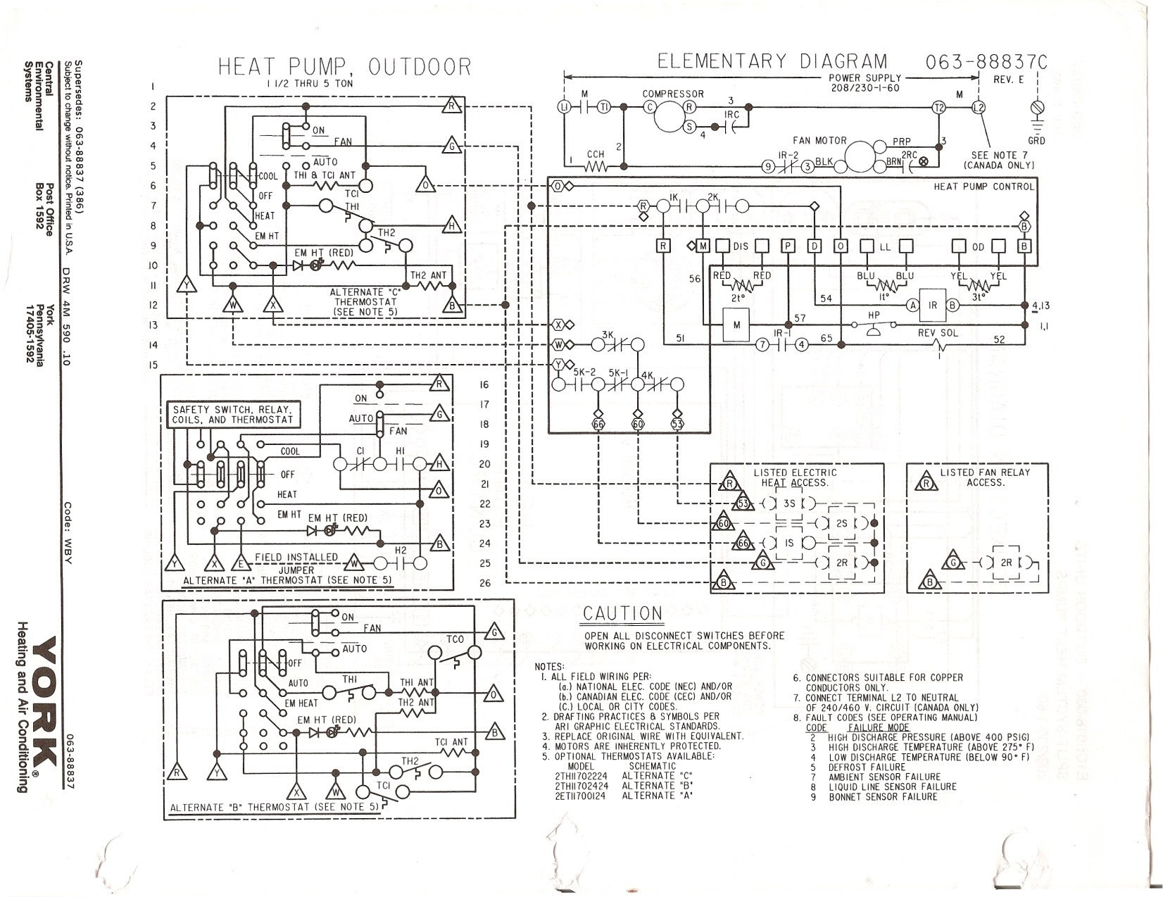 york air handler wiring diagram Collection-Carrier Air Handler Wiring Diagram Fresh York Heat Pump Wiring Diagram And Carrier With Ladder Basic 1-j
