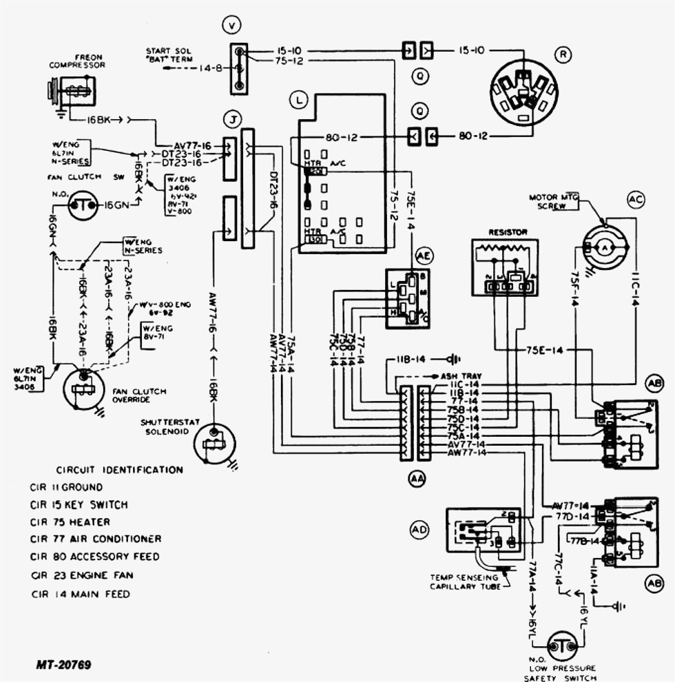 York Air Handler Wiring Diagram