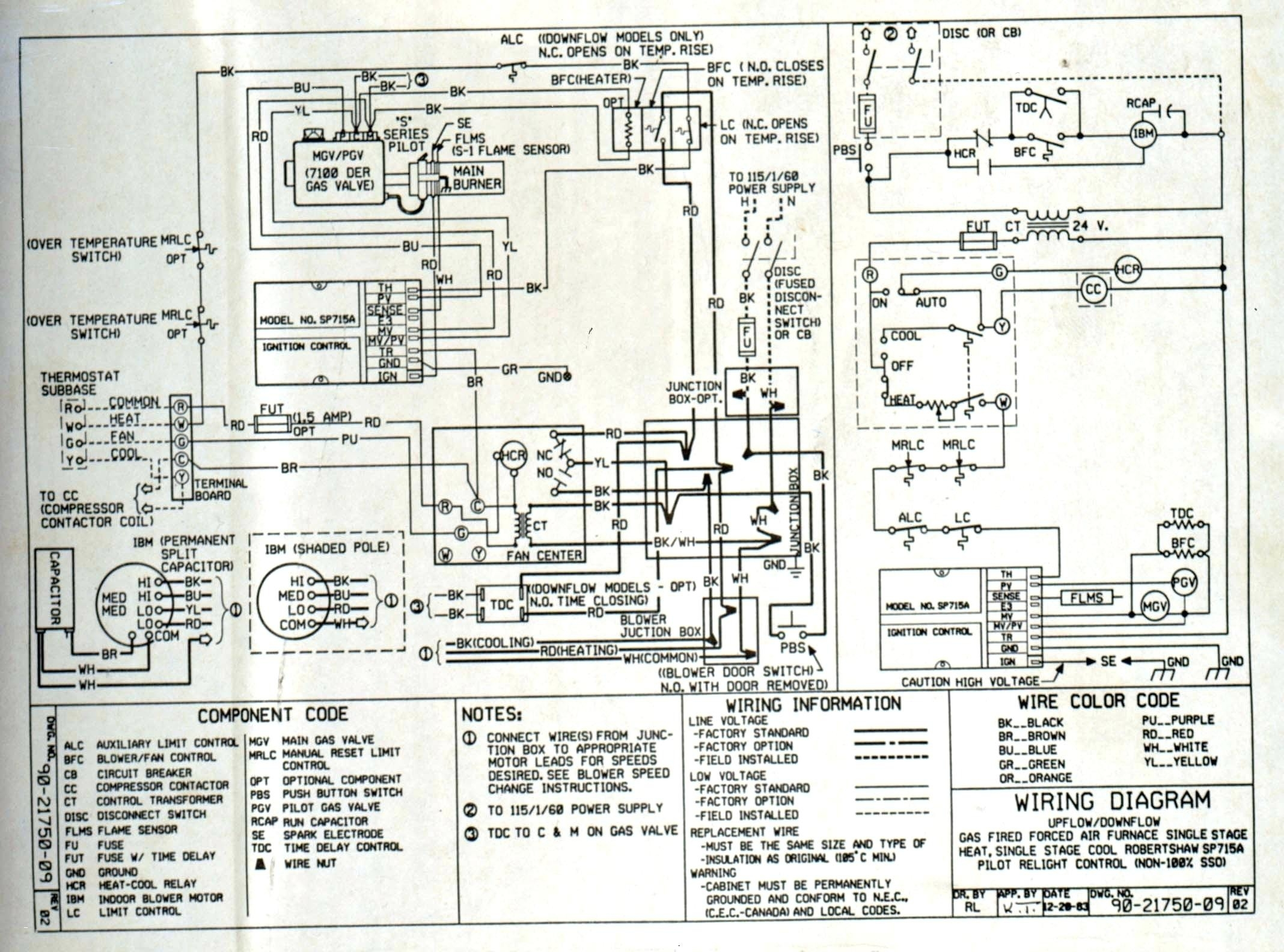 York Furnace Wiring Diagram - York Furnace Wiring Diagram Electrical Wiring Diagram Rh Metroroomph York Diamond 80 Furnace Wiring 6f