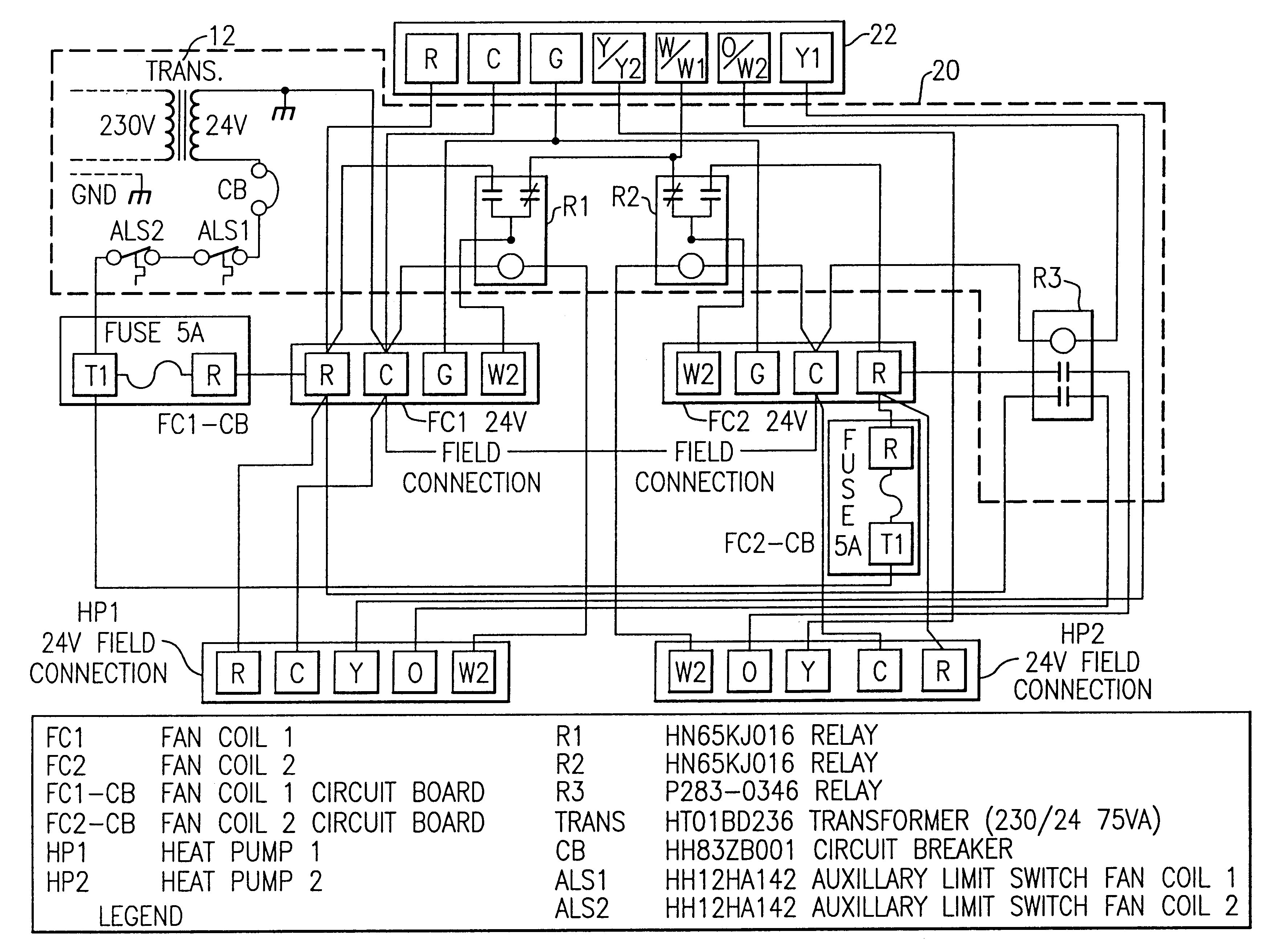 York Ac Schematics Df 072 | Wiring Diagram Ac Unit Diagram Wiring Schematic on